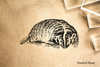Badger Rubber Stamp
