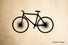 Mountain Bike Rubber Stamp