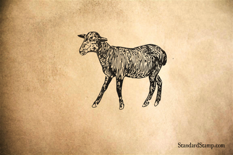 Black Sheep Rubber Stamp