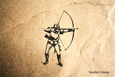 Archer Rubber Stamp