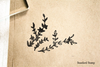 Branches Rubber Stamp