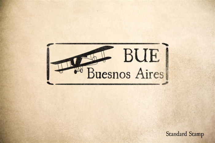 Buenos Aires Argentina Rubber Stamp