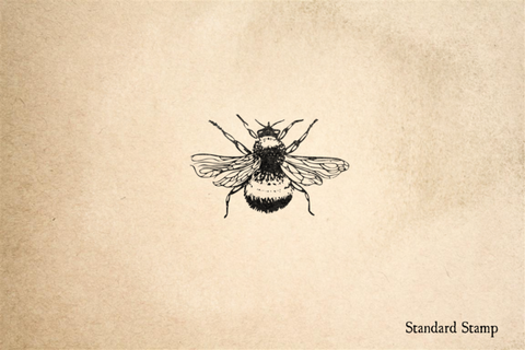 Bumblebee Rubber Stamp