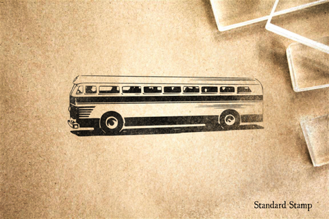 Bus Rubber Stamp