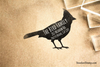 Cardinal Return Address Rubber Stamp