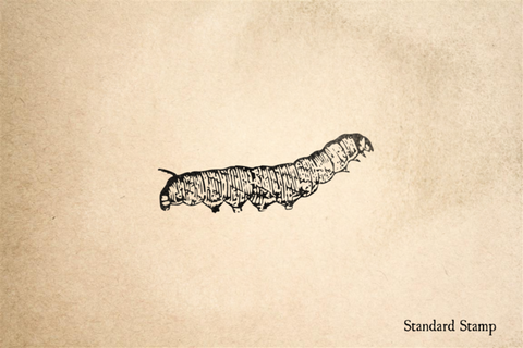 Caterpillar Rubber Stamp
