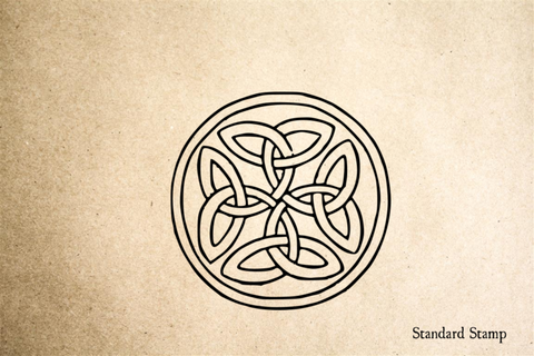 Celtic Knot Loops Rubber Stamp