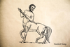 Centaur Rubber Stamp