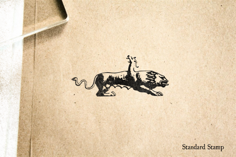 Chimera Rubber Stamp