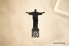 Christ the Redeemer Rio Rubber Stamp