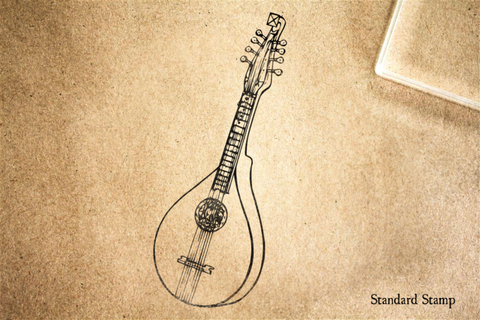 Cittern Rubber Stamp