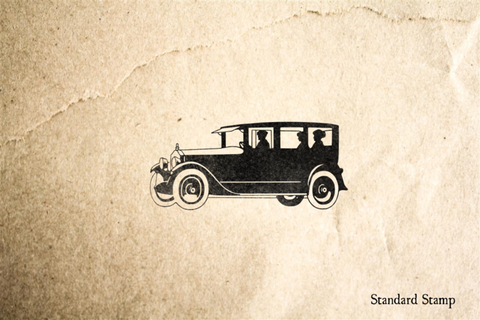 Classic Automobile Rubber Stamp