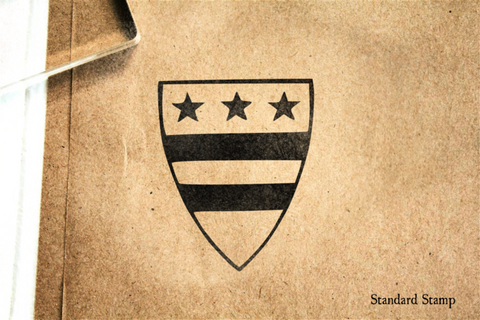 Coat of Arms Rubber Stamp