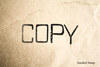 Copy Rubber Stamp