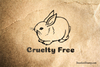 Cruelty Free Bunny Rubber Stamp