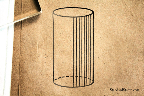 Cylinder Rubber Stamp