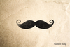 Dandy Mustache Rubber Stamp