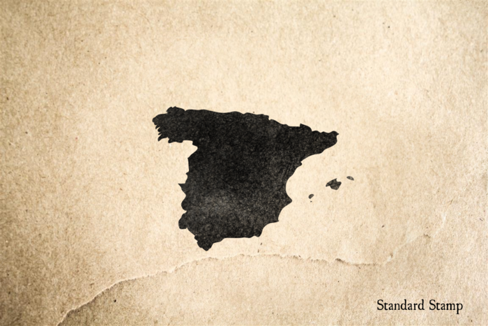 Spain Rubber Stamp