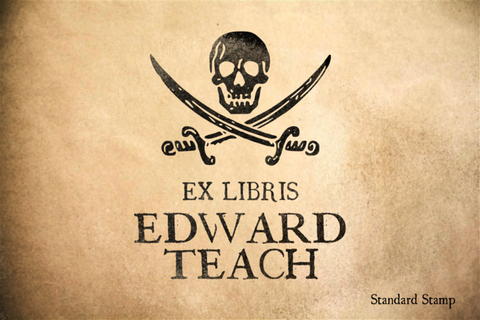 Ex Libris One Rubber Stamp