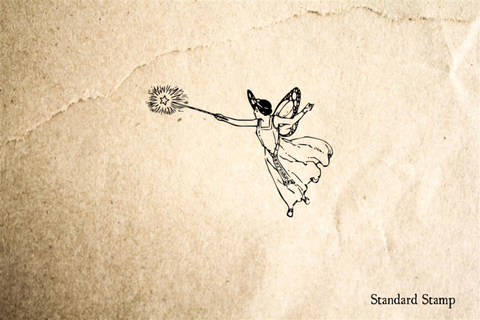 Fairy Godmother 1 Rubber Stamp
