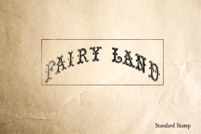 Fairy Land Rubber Stamp