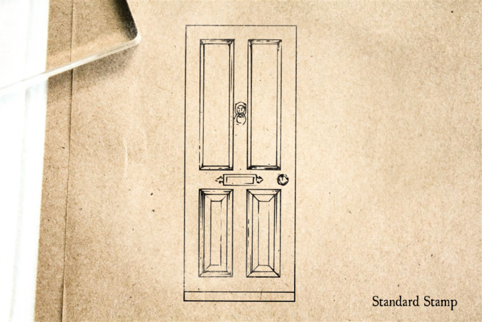 Front Door Rubber Stamp