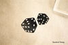 Gambling Dice Rubber Stamp