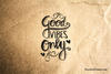 Good Vibes Only Heart Rubber Stamp