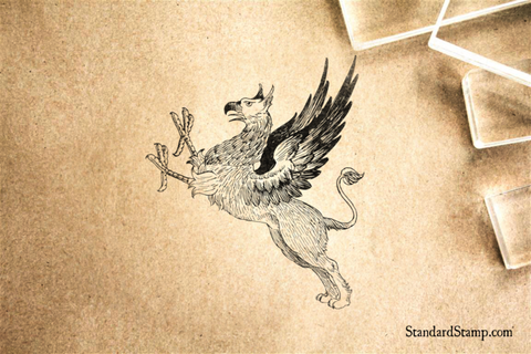 Griffin Rubber Stamp