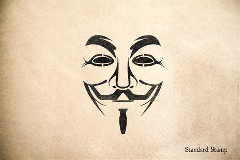Guy Fawkes Rubber Stamp