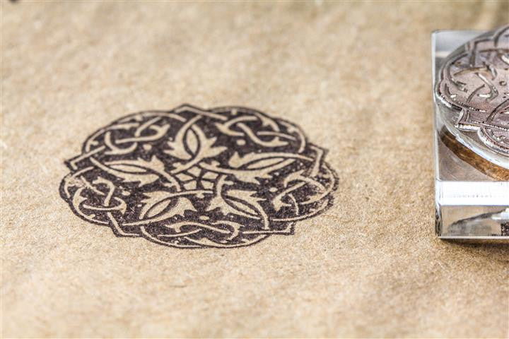 Celtic Knot #5, Ornate Gothic 2 x 2 Inch Stamp