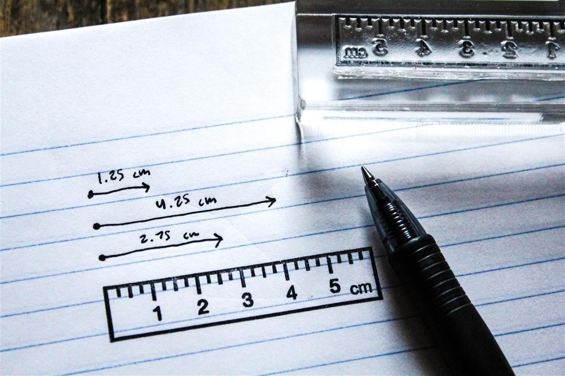 Six Centimeter Ruler Stamp