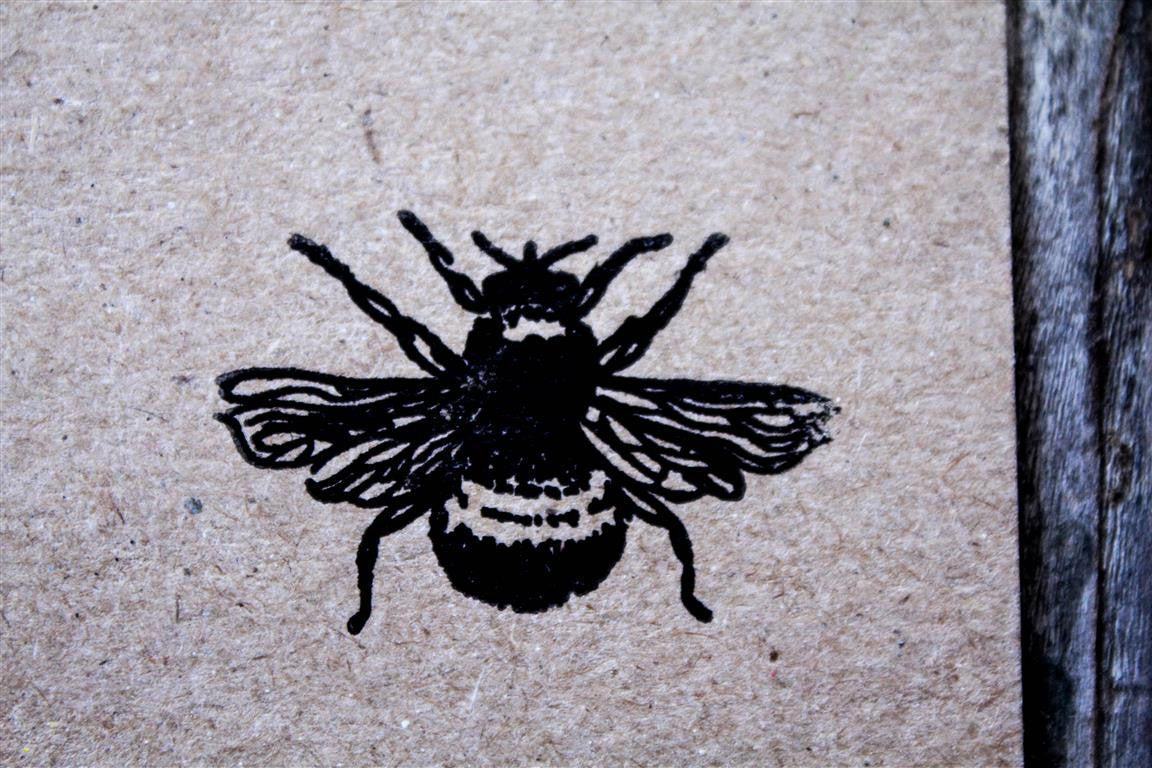 Bumblebee 2 x 2 Inch Stamp