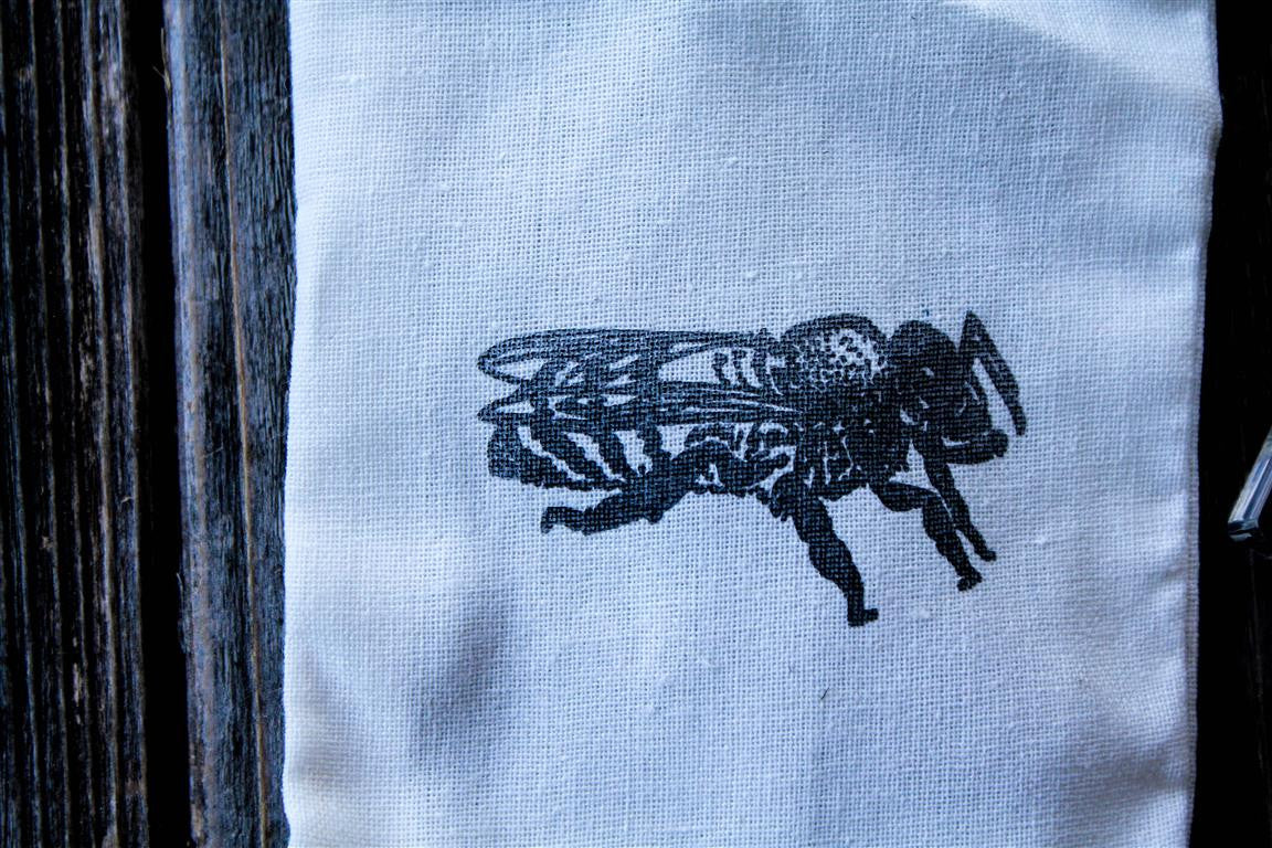 Honeybee Profile 2 x 1 Inch Stamp