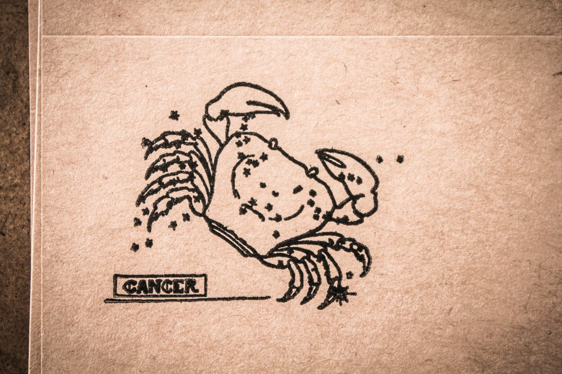 Cancer the Crab - 2 x 2 Inch Stamp