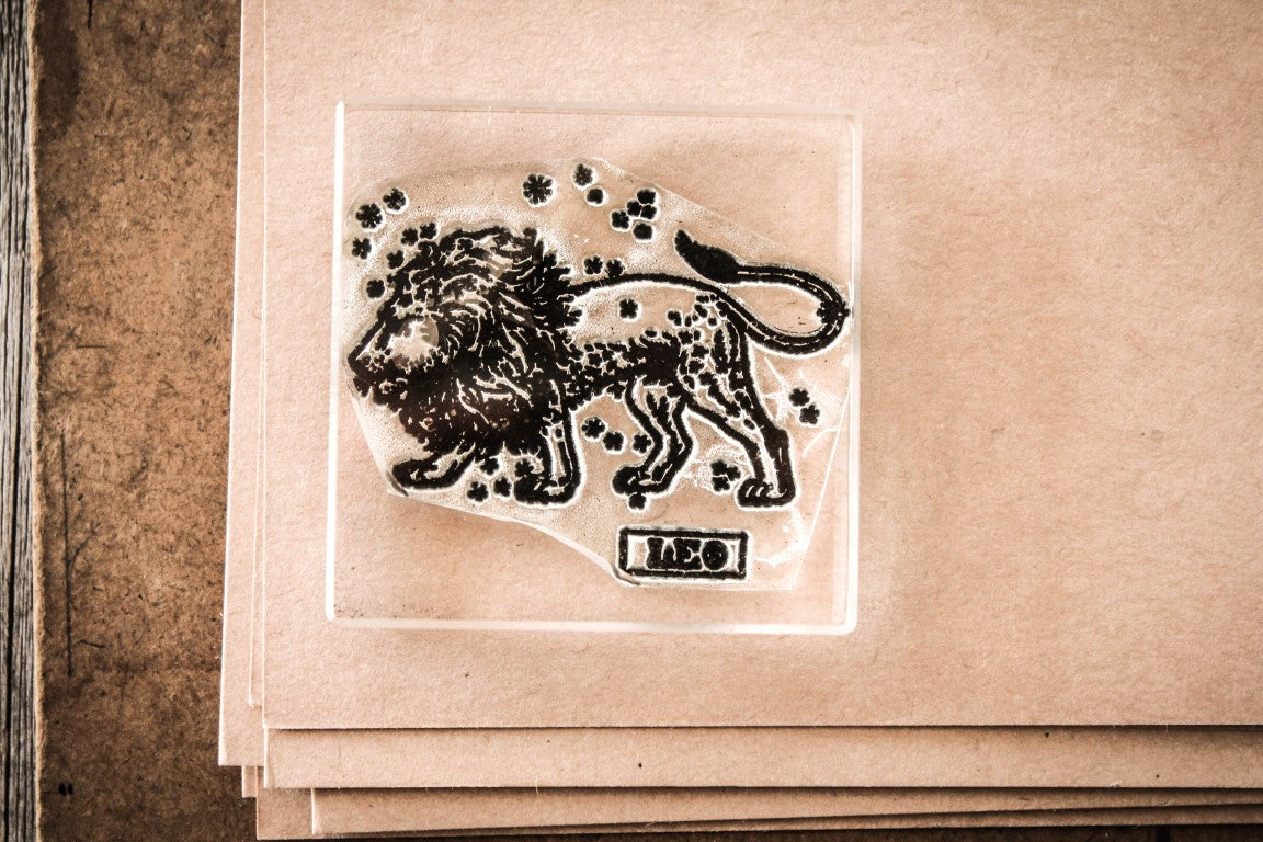 Leo the Lion - 2 x 2 Inch Stamp