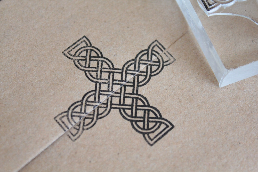 Cross, Celtic and Ornate Gothic #2 - 2 x 2 Inch Stamp