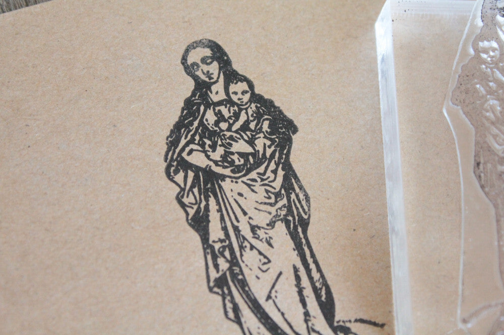 Saint Mary 2 x 3 Inch Stamp