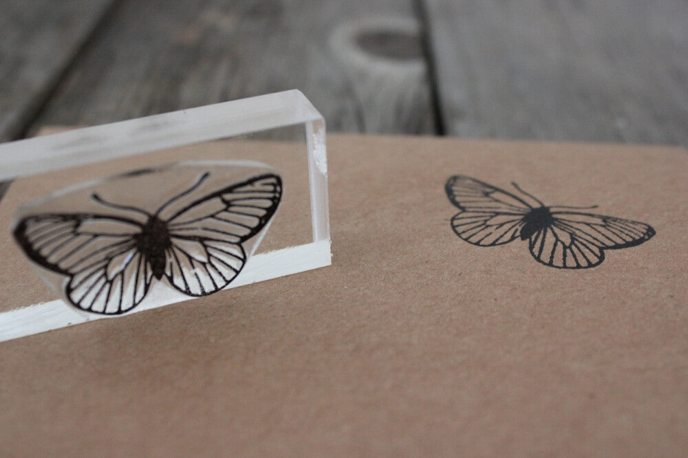 "Butterfly Antennae 1""x2"" Stamp"