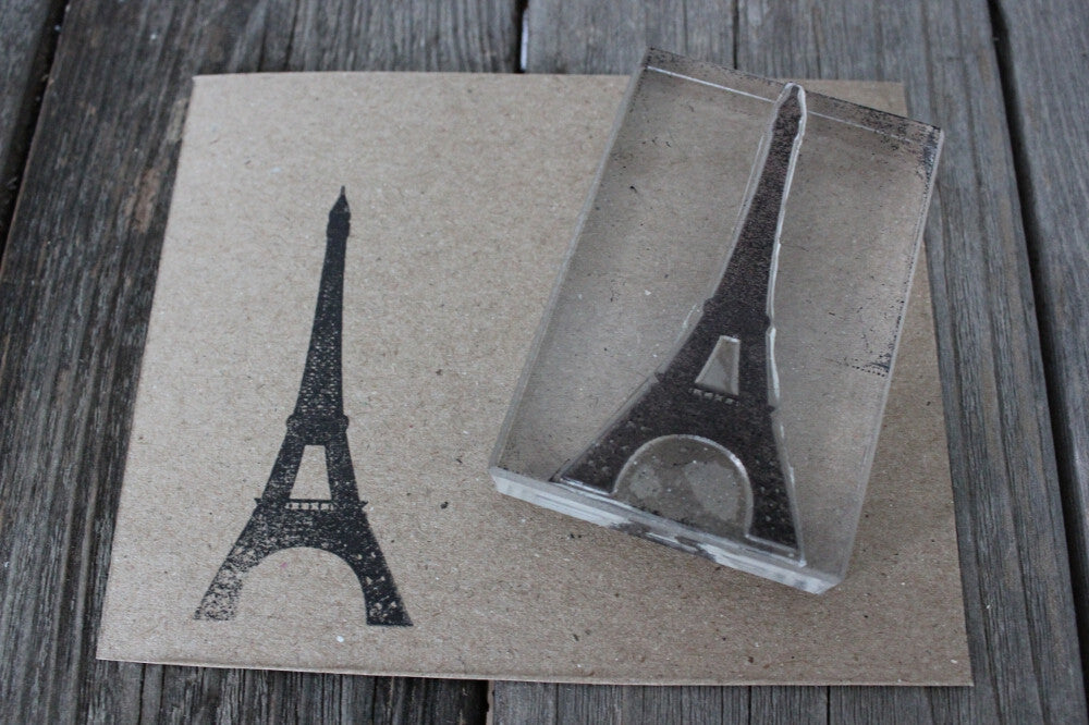 Eiffel Tower 2 x 3 Inch Stamp