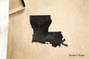 Louisiana  Rubber Stamp