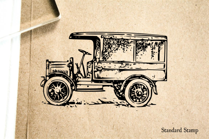 Model T Ford Rubber Stamp