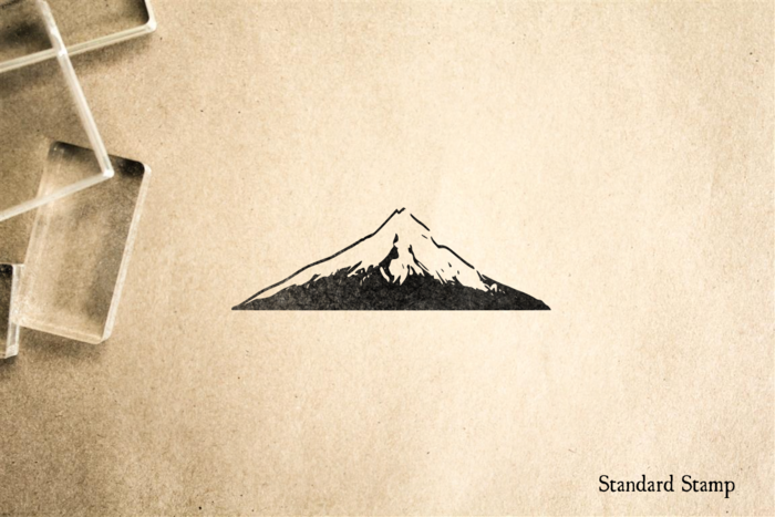Mountain Rubber Stamp