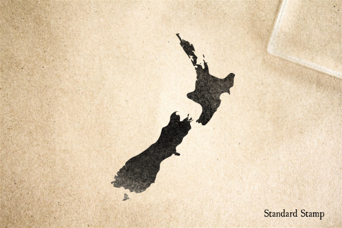 New Zealand Rubber Stamp
