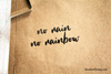 No Rain No Rainbow Rubber Stamp
