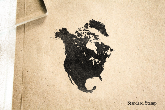 North America Rubber Stamp