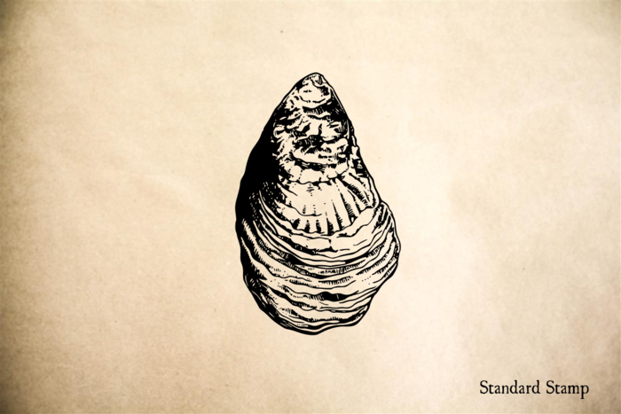 Oyster Rubber Stamp