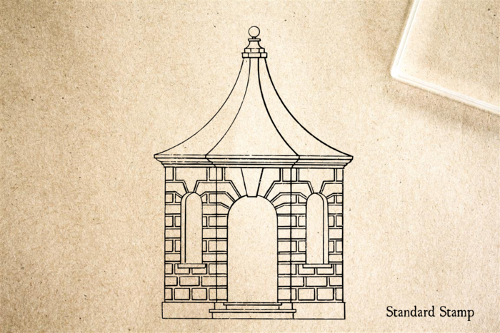 Pavilion Rubber Stamp