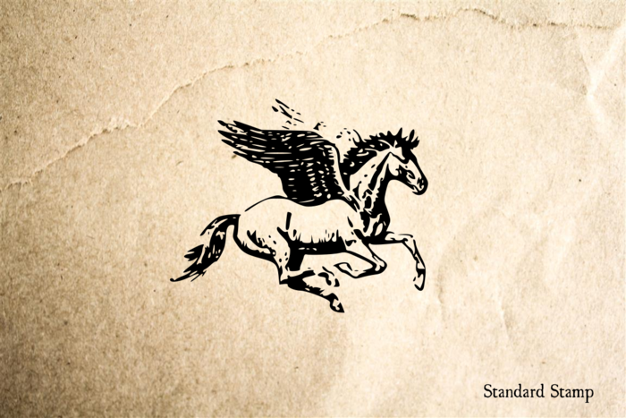 Pegasus Rubber Stamp