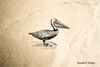 Pelican Rubber Stamp
